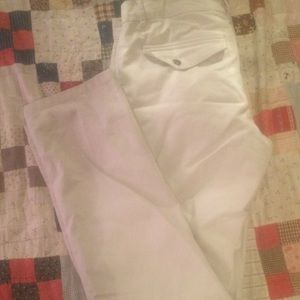 EUC. Versace Collection White Trousers